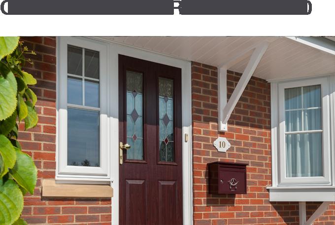 COMPOSITE DOORS FROM £560