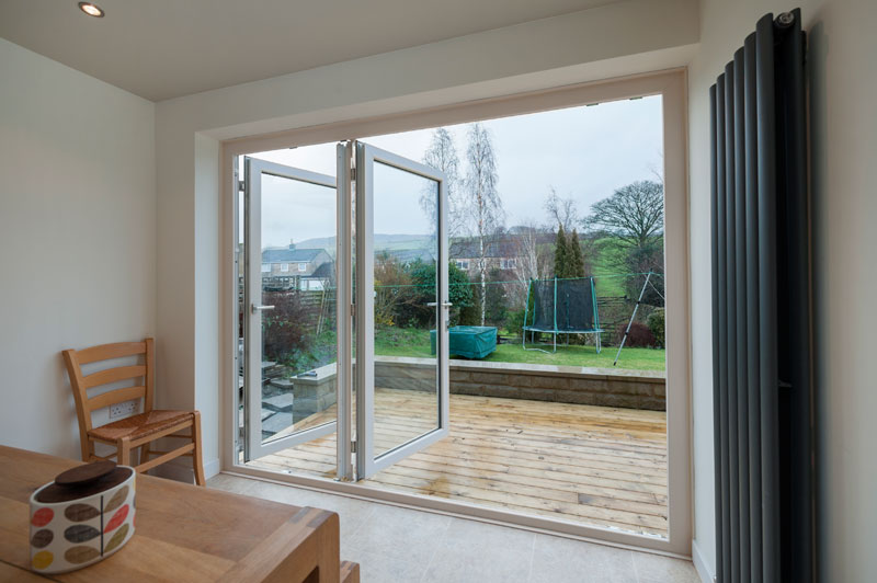 Stunning Bifold Doors Installed By Abbey Windows Leicester