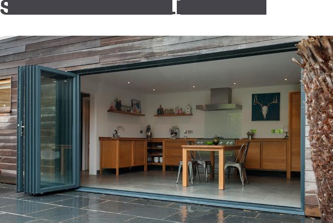 STUNNING BI-FOLD DOORS