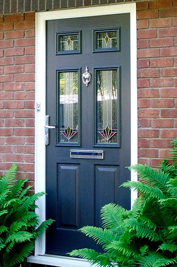 Abbey Windows Leicester composite doors & High performance Solidor Composite doors. Abbey Windows.