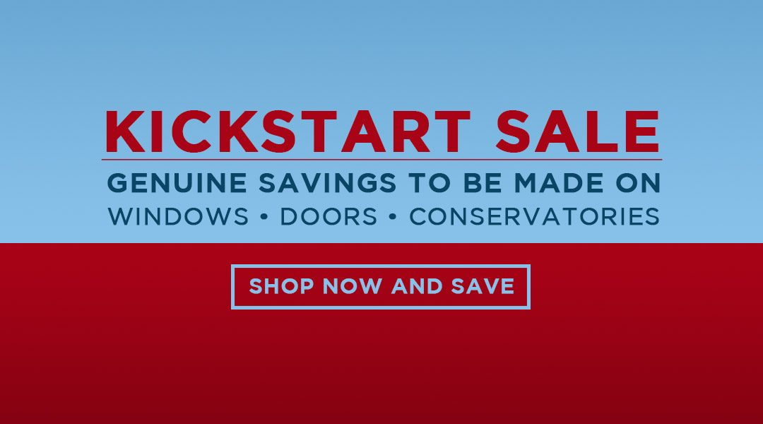Abbey Windows Leicester Kickstart Sale now on! Shop Now and Save Pounds!