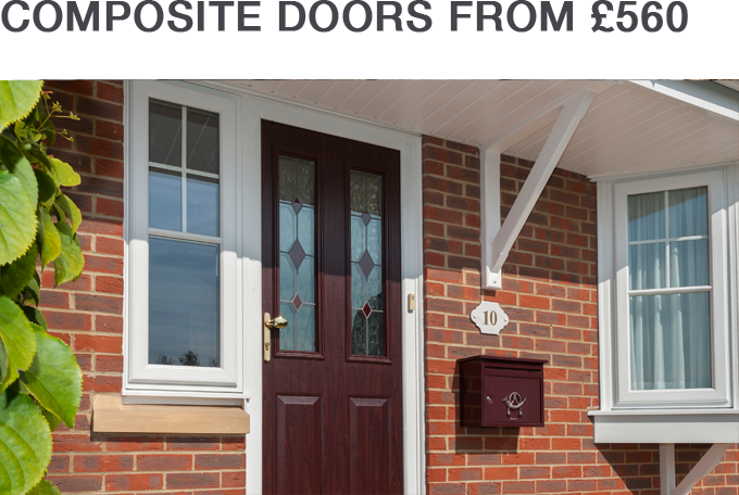 COMPOSITE DOORS FROM £560