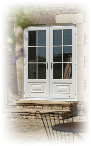 Abbey Windows Leicester upvc white French doors